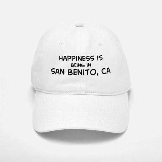 San Benito - Happiness Baseball Baseball Cap