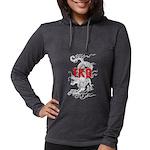TKD Dragon Womens Hooded Shirt