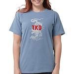 TKD Dragon Womens Comfort Colors Shirt