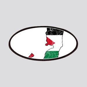 Palestine Flag And Map Patches