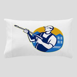 Power Washing Pressure Water Blaster Worker Pillow
