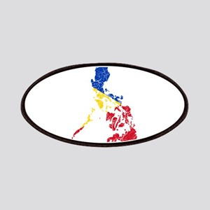 Philippines Flag And Map Patches