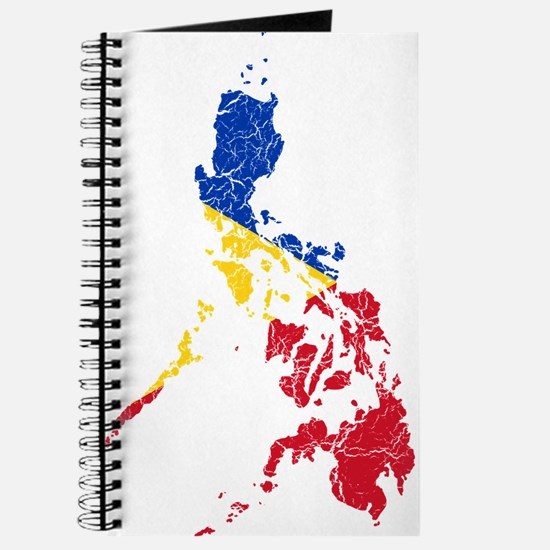 Philippines Flag And Map Journal