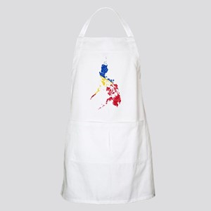 Philippines Flag And Map Apron