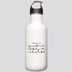 Melodious Cats Stainless Water Bottle 1.0L