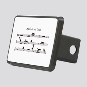 Melodious Cats Rectangular Hitch Cover