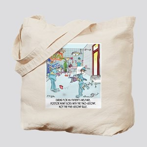 Two-Second Rule in the OR Tote Bag
