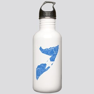 Somalia Flag And Map Stainless Water Bottle 1.0L
