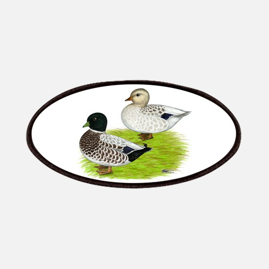 Snowy Call Ducks Patches