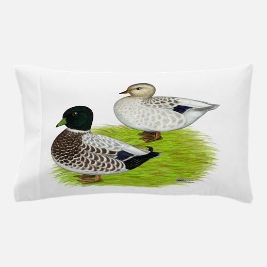 Snowy Call Ducks Pillow Case