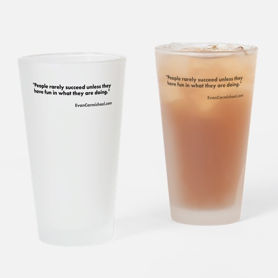 Motivational #4 Drinking Glass