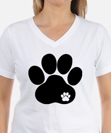 Double Paw Print Shirt