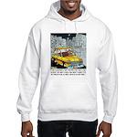 Reindeer Cabbie Hooded Sweatshirt