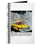 Reindeer Cabbie Journal