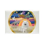 XmasStar/Am Eskimo #1 Rectangle Magnet (10 pack)