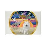 XmasStar/Am Eskimo #1 Rectangle Magnet