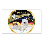 XmasDove/Am Eskimo Sticker (Rectangle 10 pk)