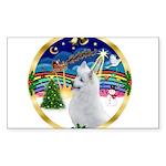XmasMusic 3/Am Eskimo #3 Sticker (Rectangle)