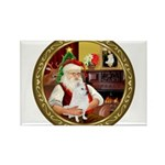 Santa's Am Eskimo #5 Rectangle Magnet (10 pack)