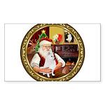 Santa's Am Eskimo #5 Sticker (Rectangle 10 pk)