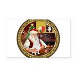 Santa's Am Eskimo #5 Rectangle Car Magnet