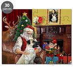 Santa/Anatolian Shep Puzzle