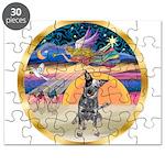 XmasStar/Cattle Dog Puzzle