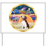 XmasStar/Beagle 2 Yard Sign