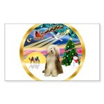XmasMagic/Beardie #16 Sticker (Rectangle 50 pk)