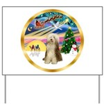 XmasMagic/Beardie #16 Yard Sign