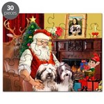 Santa's Beardie pair Puzzle