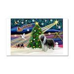 Xmas Magic & Beardie Car Magnet 20 x 12