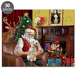 Santa's Bedlington Puzzle