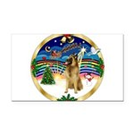 XmasMusic 3/Tervuren Rectangle Car Magnet