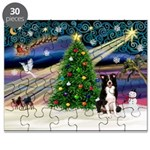 XmasMagic/ Border Collie Puzzle