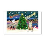 Xmas Magic & Boxer Car Magnet 20 x 12