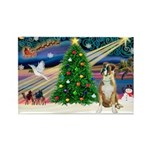 Xmas Magic & Boxer Rectangle Magnet
