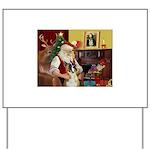 Santa's Boxer (#1) Yard Sign