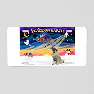 XmasSunrise/Mastiff #3 Aluminum License Plate