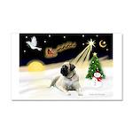 Night Flight/Mastiff 4 Car Magnet 20 x 12