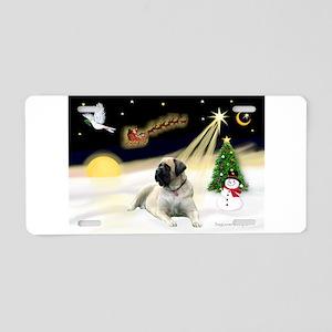 Night Flight/Mastiff 4 Aluminum License Plate