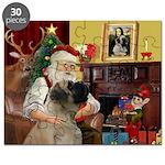 Santa's Bullmastiff #7 Puzzle