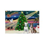 XmasMagic/2 Bullies Rectangle Magnet (10 pack)