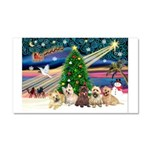 XmasMagic/ 5 Cairns Car Magnet 20 x 12