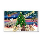 XmasMagic/ 5 Cairns Rectangle Car Magnet