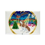 XmasMusic 3/Cavalier F1 Rectangle Magnet (10 pack)