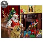 Santa's Chow Chow Puzzle