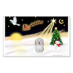 Night Flight/Coton #1 Sticker (Rectangle 50 pk)