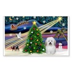 XmasMagic/ Coton Sticker (Rectangle 50 pk)