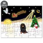 Night Flight/Dachshund Lh Puzzle